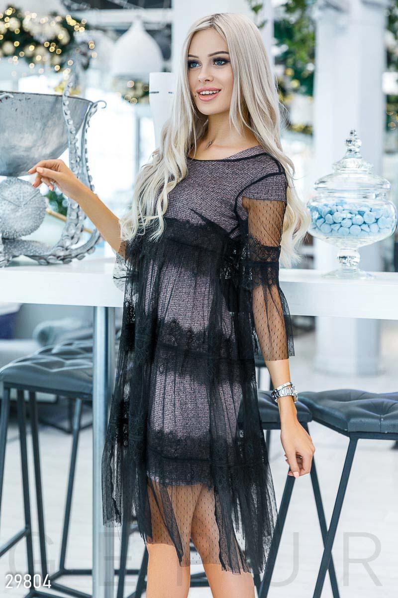883b3649450674 Вечірнє плаття-сітка - купити оптом і уроздріб   GEPUR