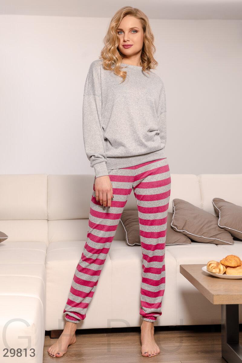 Комфортная трикотажная пижама