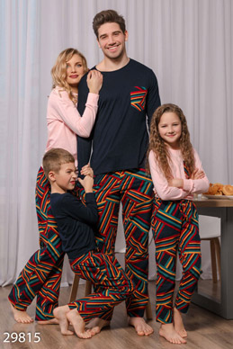 Warm men's pajamas photo 1