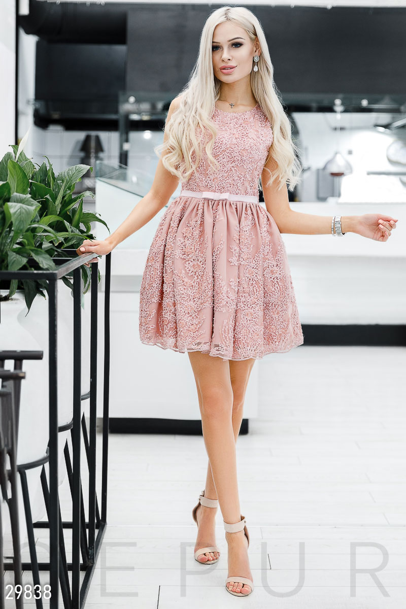 ca8e5a03ac7fb6 Вечірнє плаття з декором - купити оптом і уроздріб   GEPUR