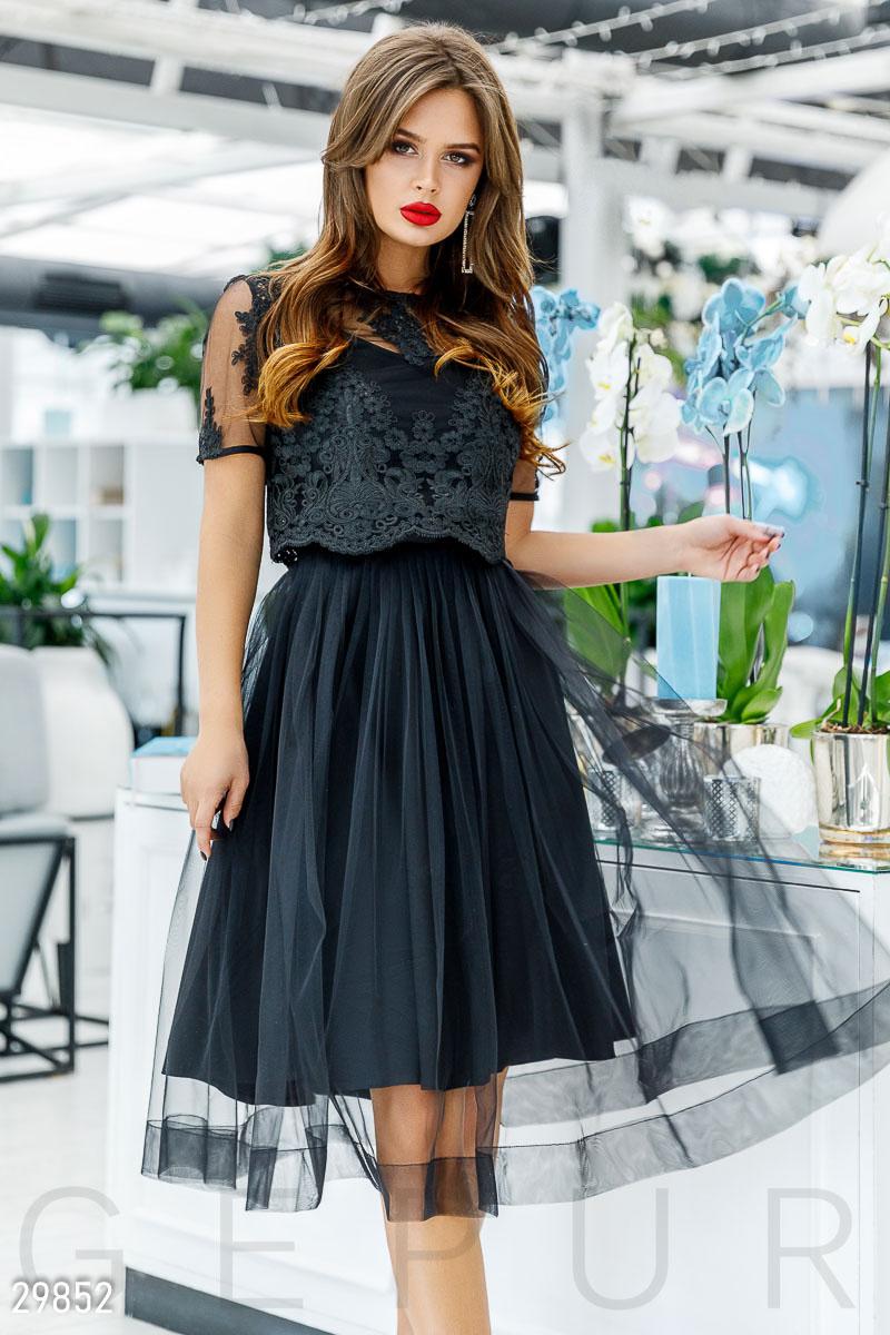 acc1fca81985d6 Сукня з об'ємною спідницею - купити оптом і уроздріб | GEPUR