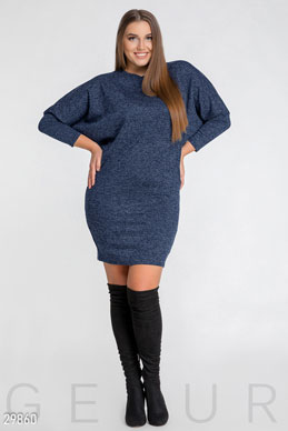 Dress with a dramatic sleeve photo 1