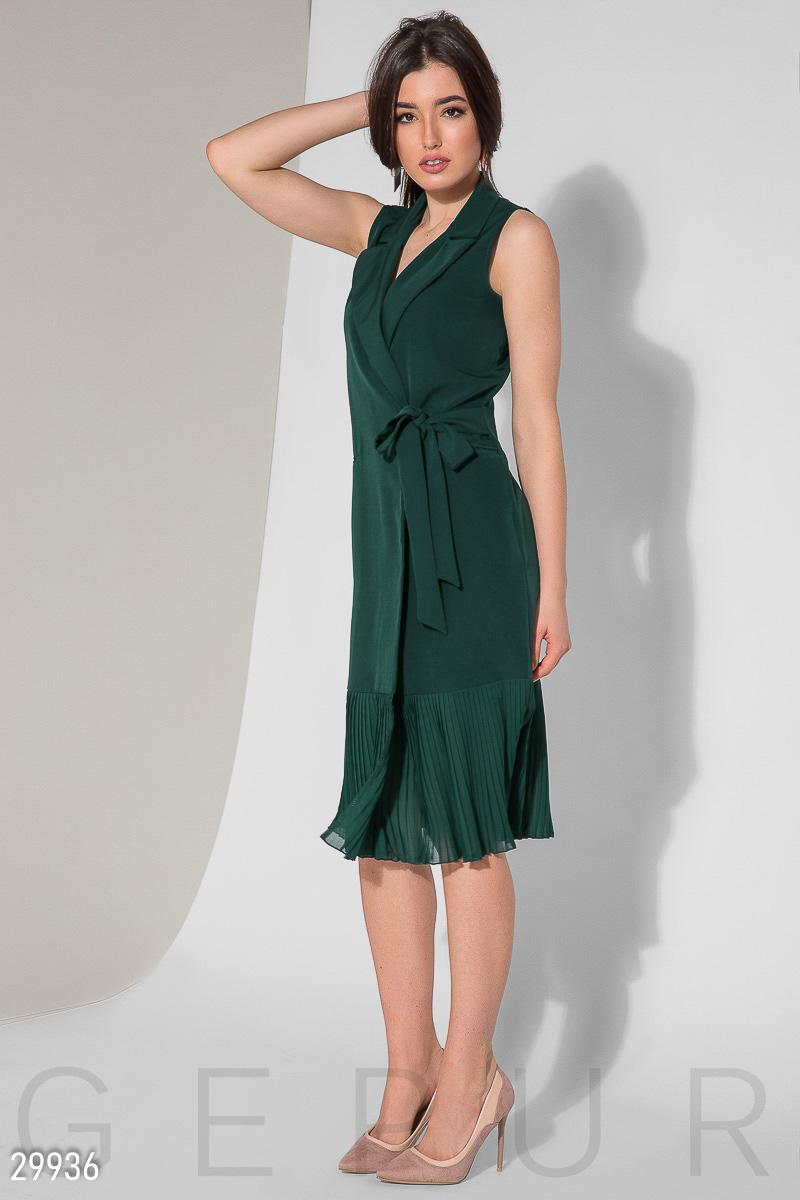 Уникальное платье-миди