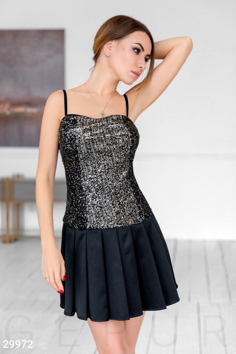 Вечернее короткое платье