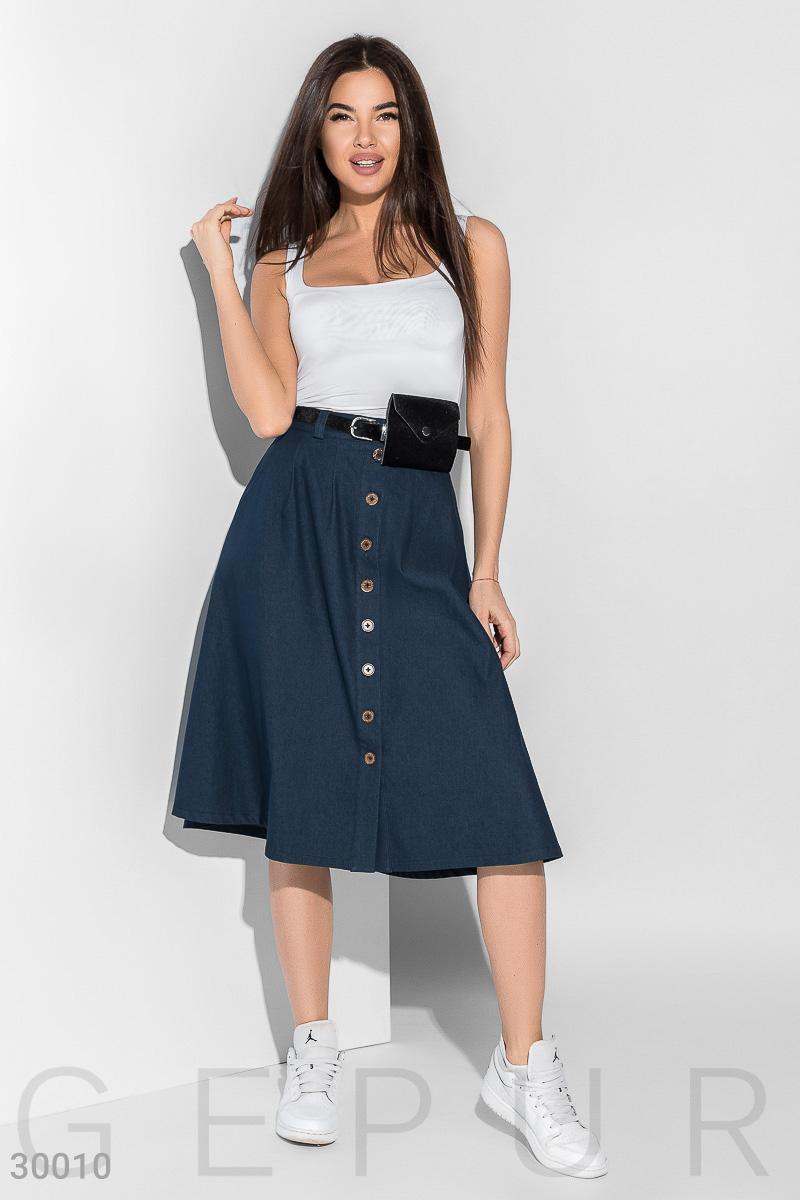 Изящная расклешенная юбка