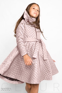 Quilted coat-dress photo 1