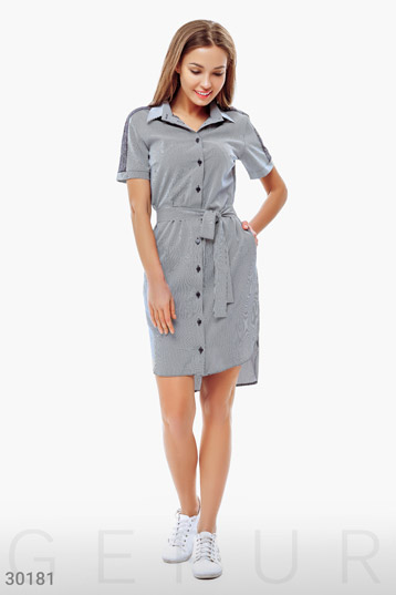 T-shirt dress photo 1