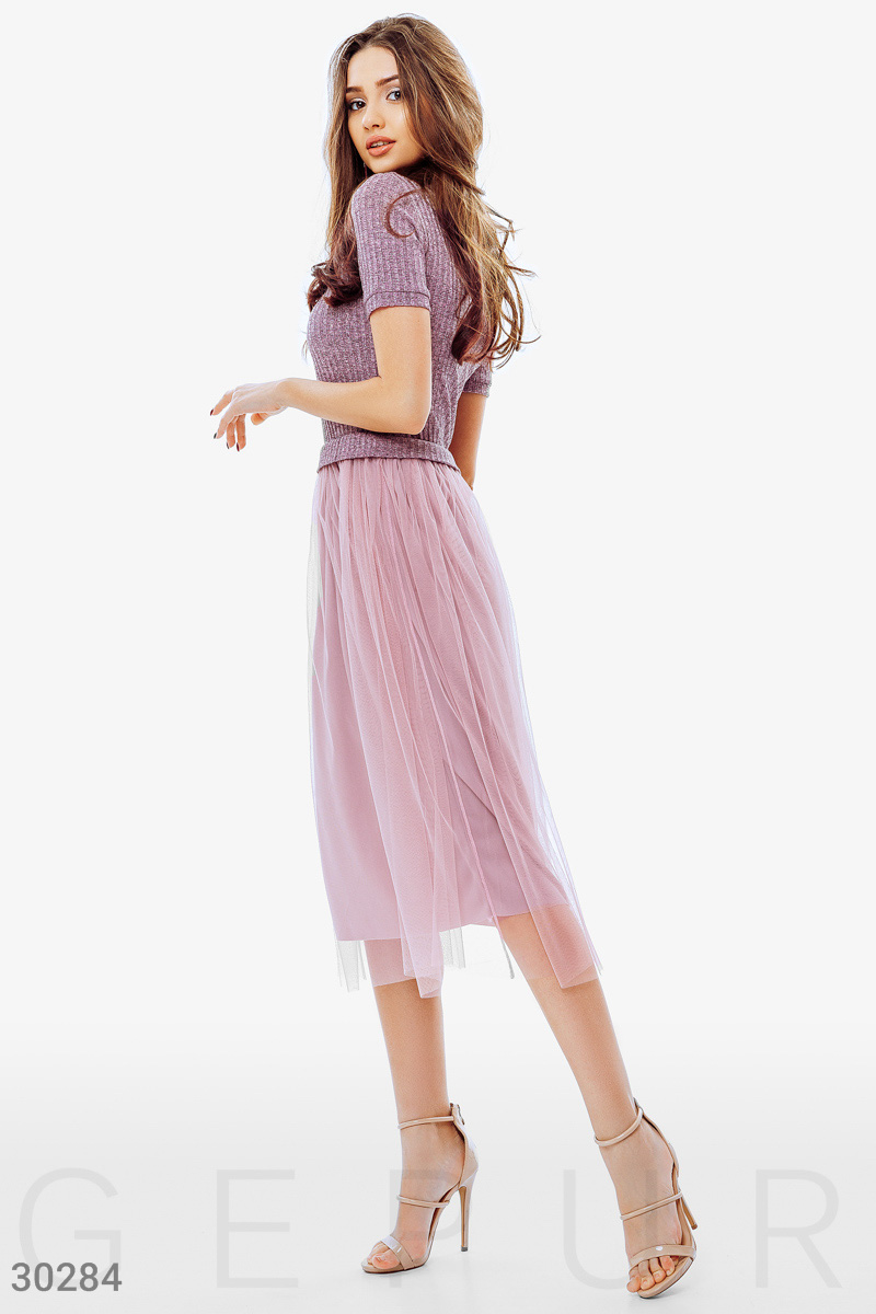 Easy Jersey dress Pink 30284