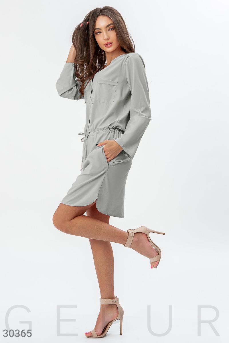 Актуальное платье-рубашка