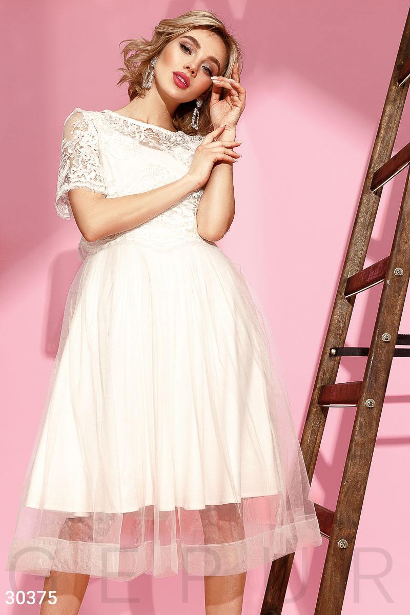 Актуальное платье с топом
