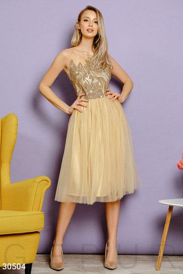 33943b592d73c45 Купить платья золотистого цвета по низкой цене в Украине и России ...