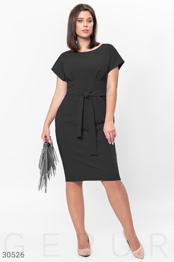 Business dress with short sleeve photo 1