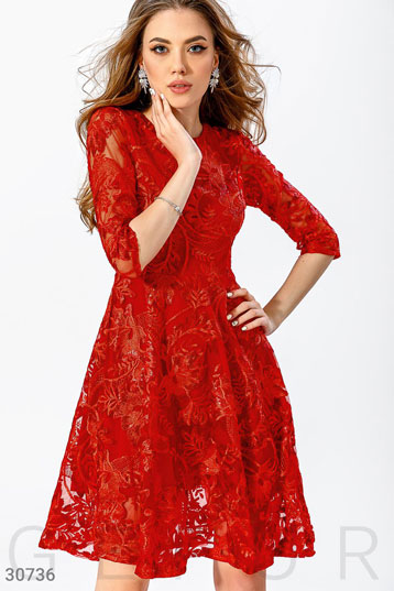 de70c12dcb3 Купить платья на выпускной красного цвета по низкой цене в Украине и ...