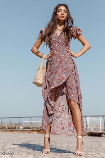 e5f36bd2e3b474c Купить платья миди Цветочный принт по низкой цене в Украине и России ...