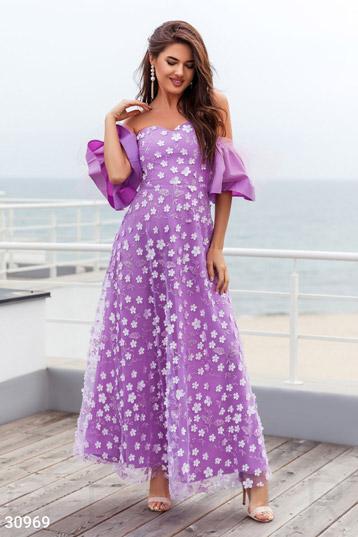 36950ece087b64 Купити вечірні сукні фіолетового кольору від GEPUR за низькою ціною ...