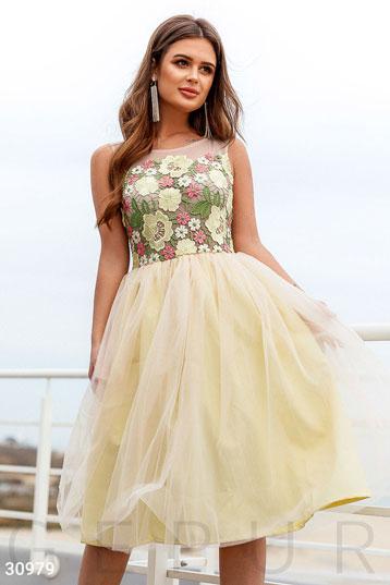 02b2a572c877c39 Купить вечерние платья желтого цвета по низкой цене в Украине и ...