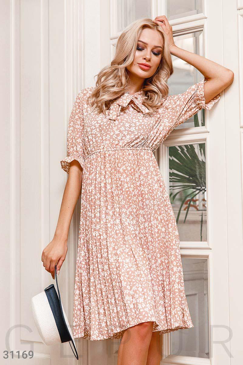 4ee4d1a64b8 Нежное платье-плиссе - купить оптом и в розницу