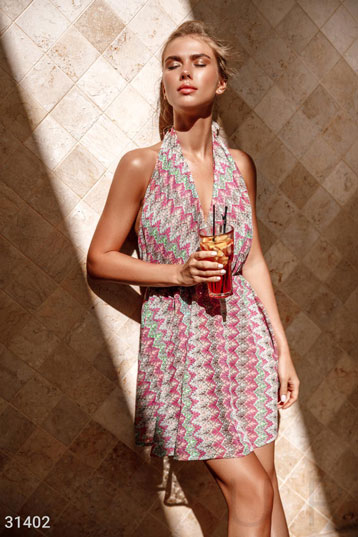 bca91c4198c5f Купить пляжные туники розового цвета по низкой цене в Украине и ...