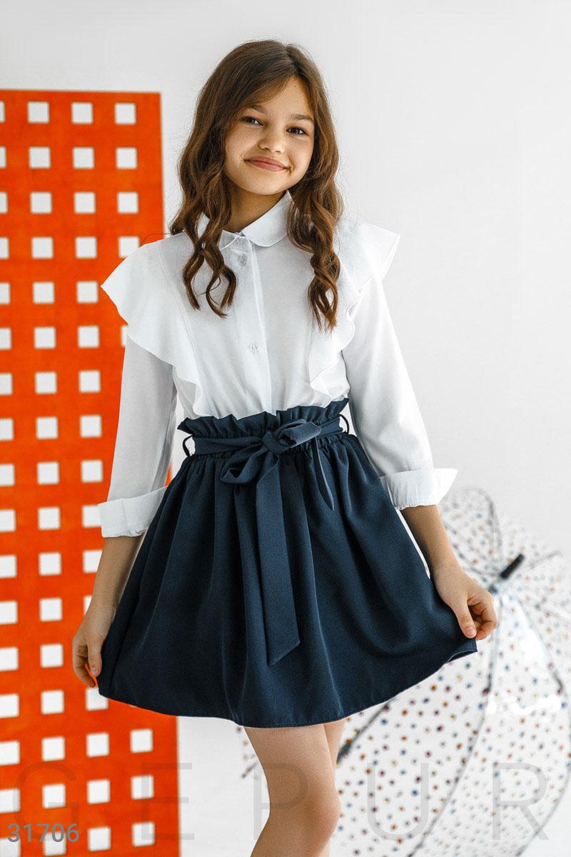 Детская блуза с оборками31706