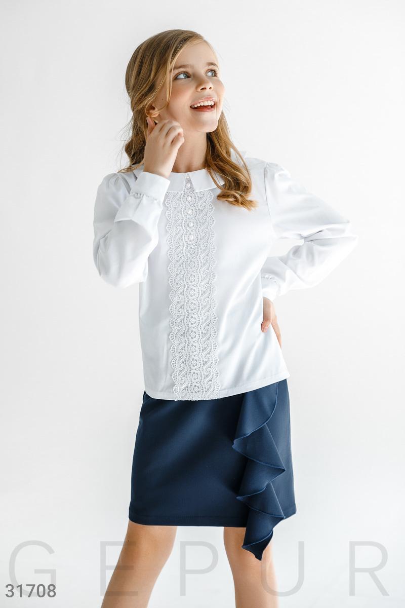 Блуза оригинального кроя