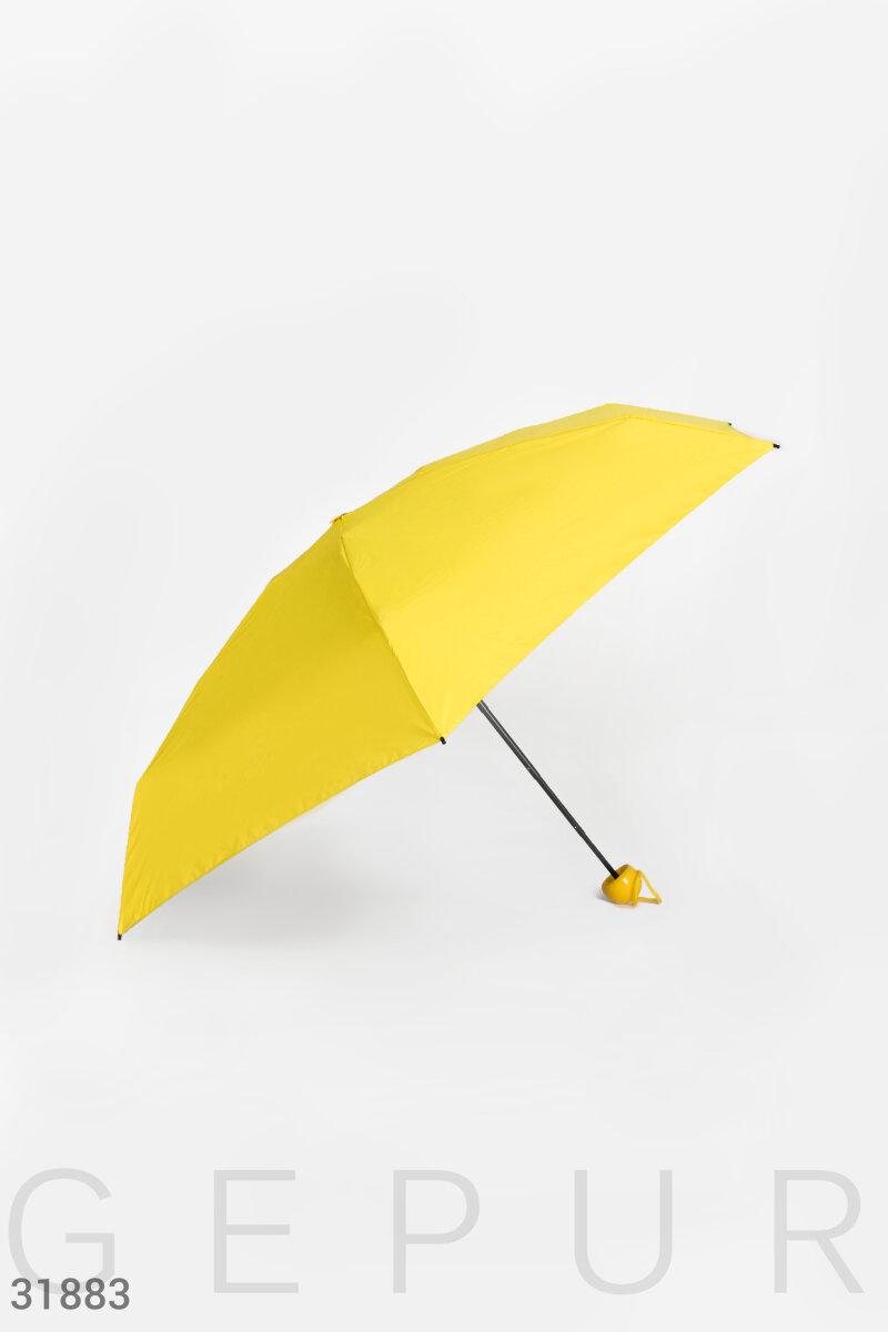 Компактный яркий зонт