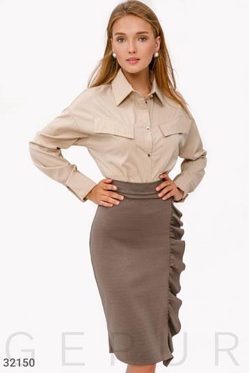 05a95e2736095 Купить женскую одежду коричневого цвета по низкой цене в Украине и России |  GEPUR