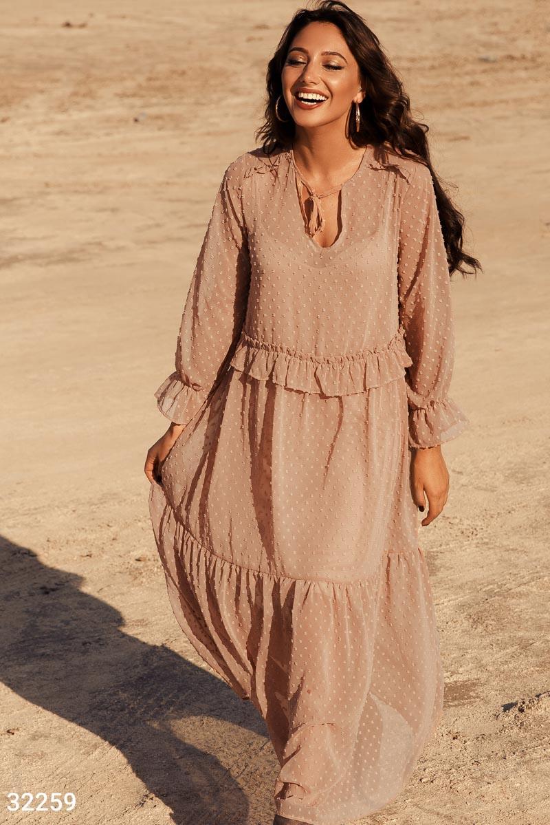 Платье в бохо-стиле