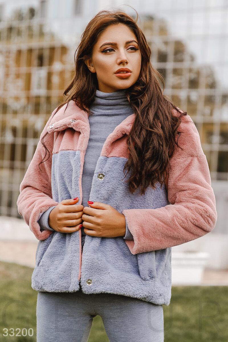 Лаконичная теплая куртка