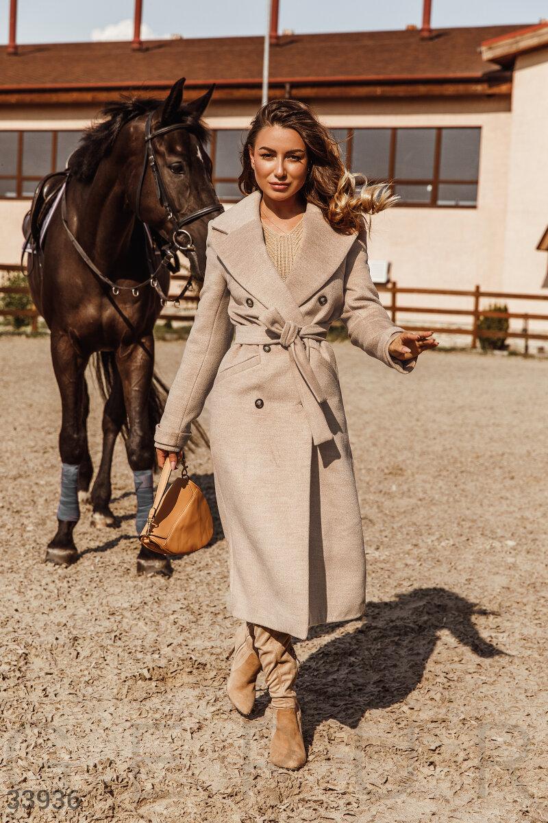 Базовое женское пальто