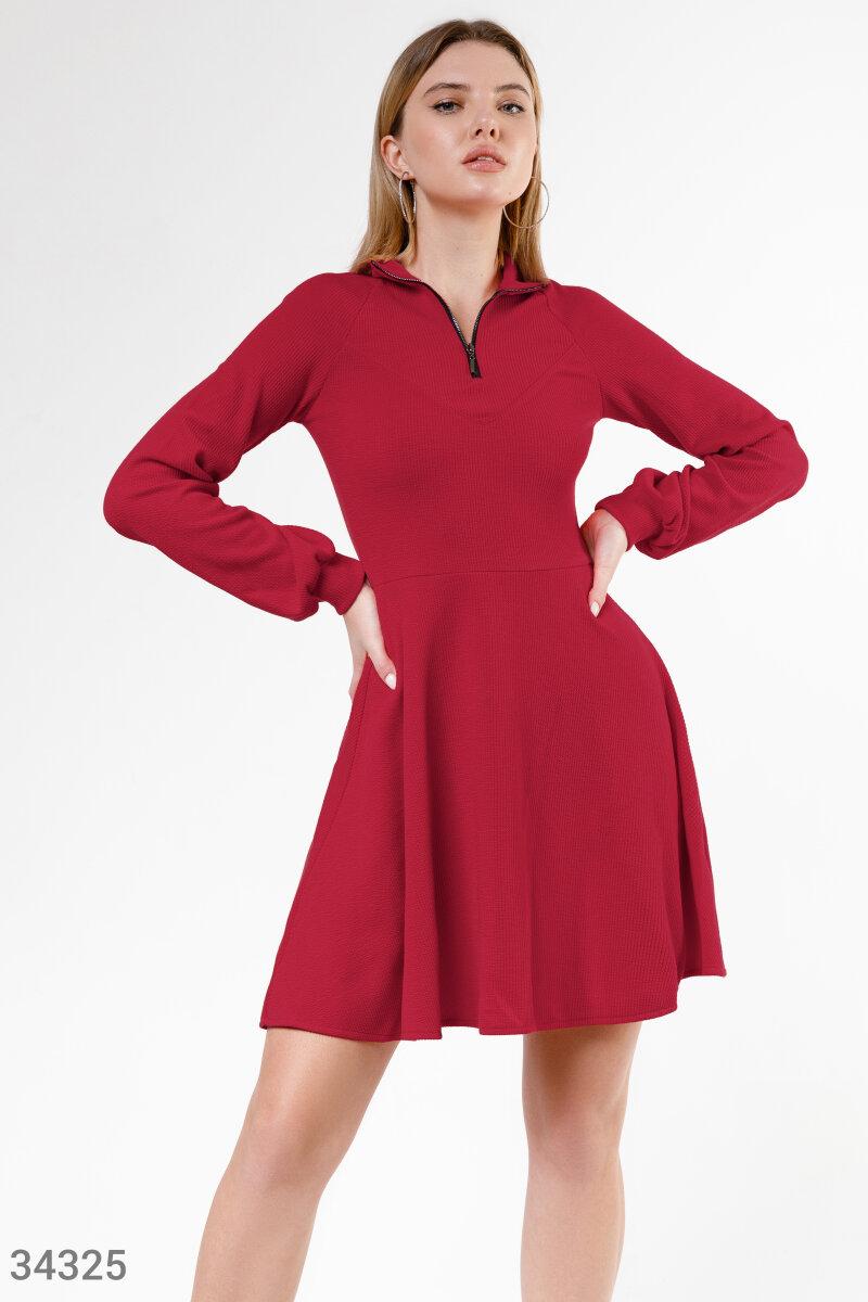 Комфортное трикотажное платье