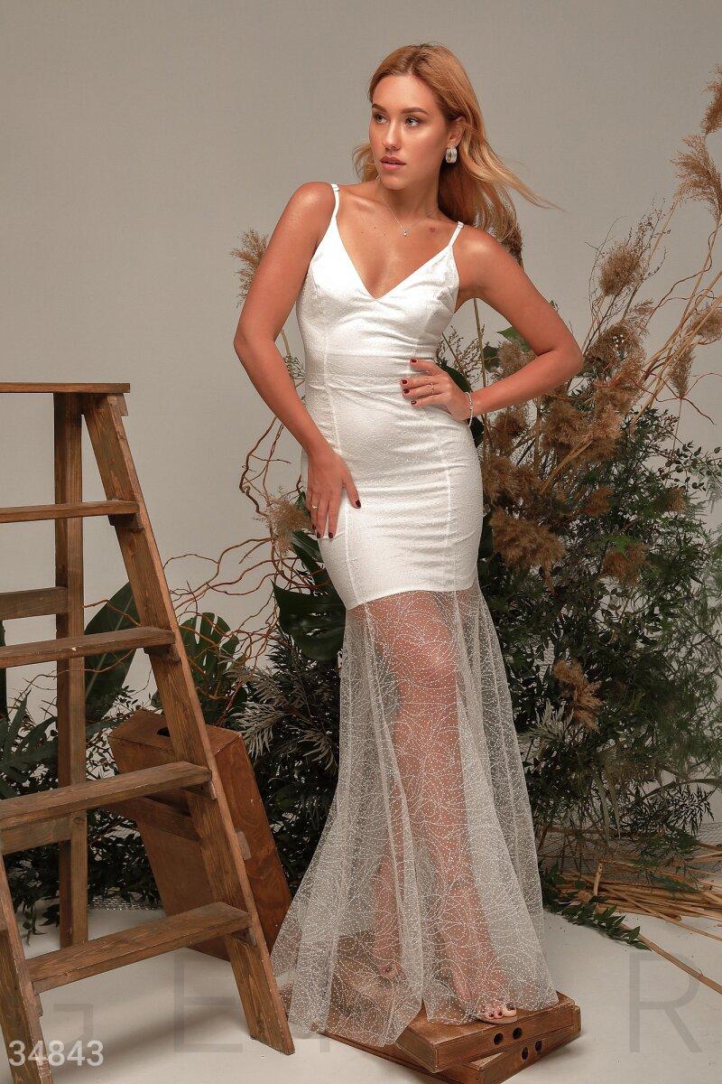 Изящное платье-годе Gepur