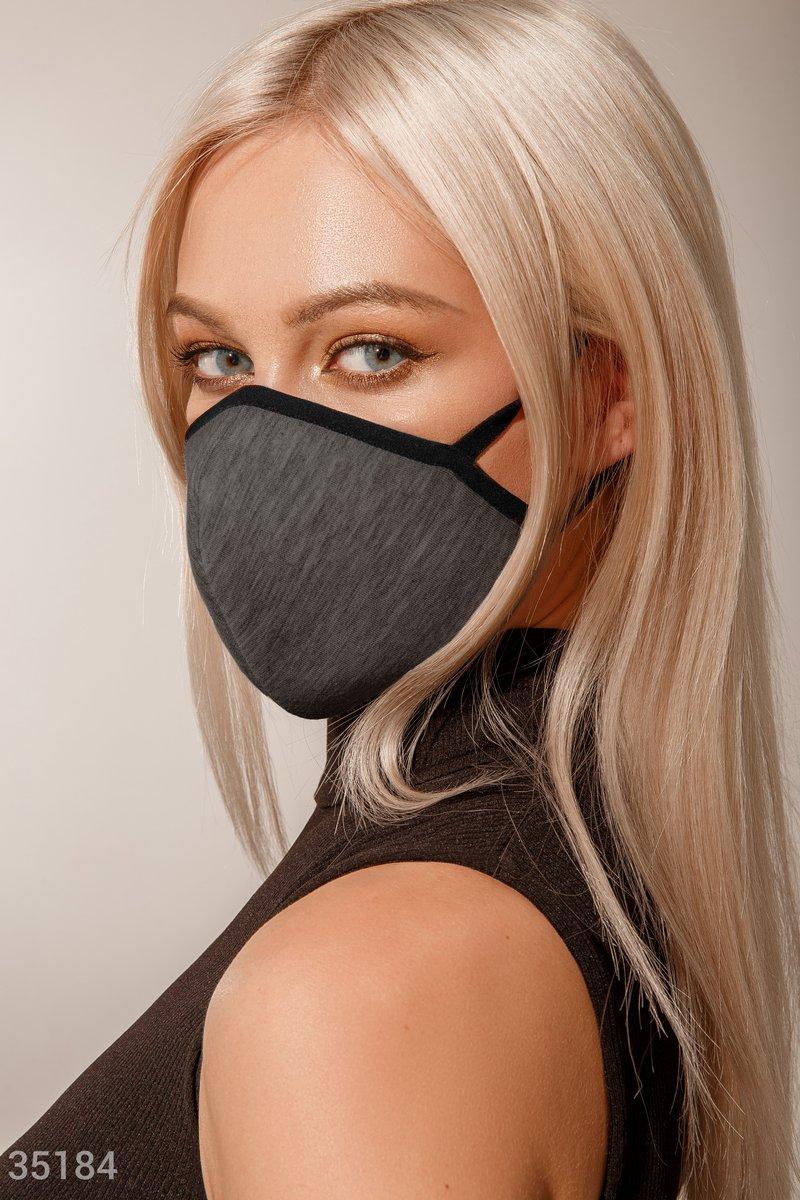 Дизайнерская многоразовая маска