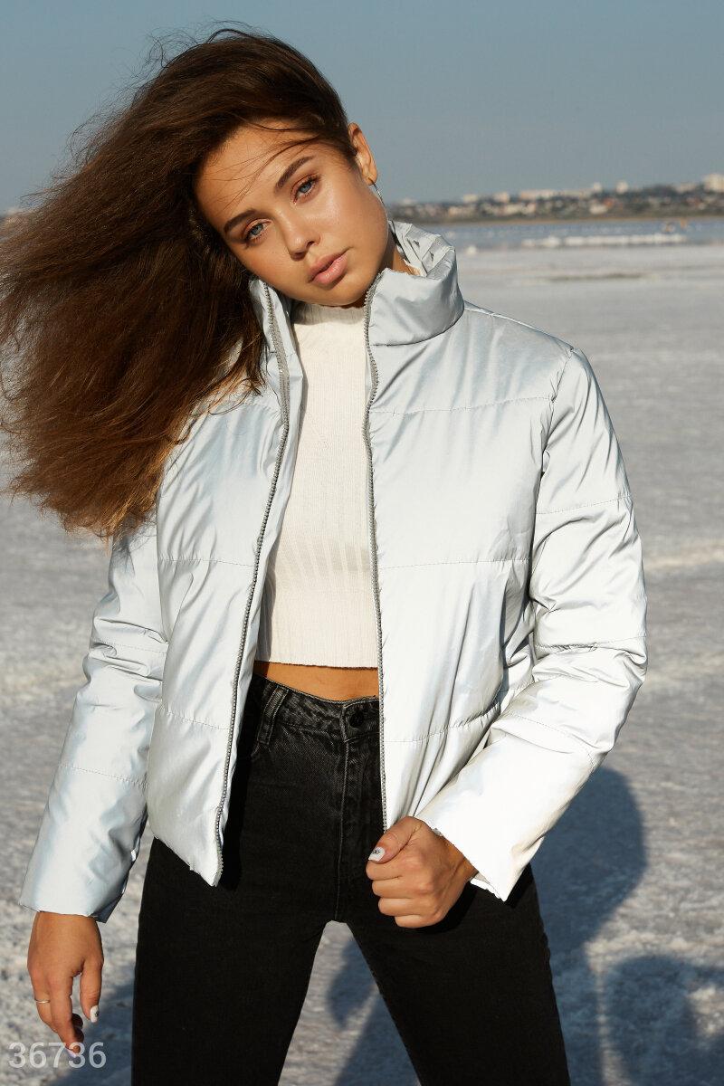 Светоотражающая стеганая куртка