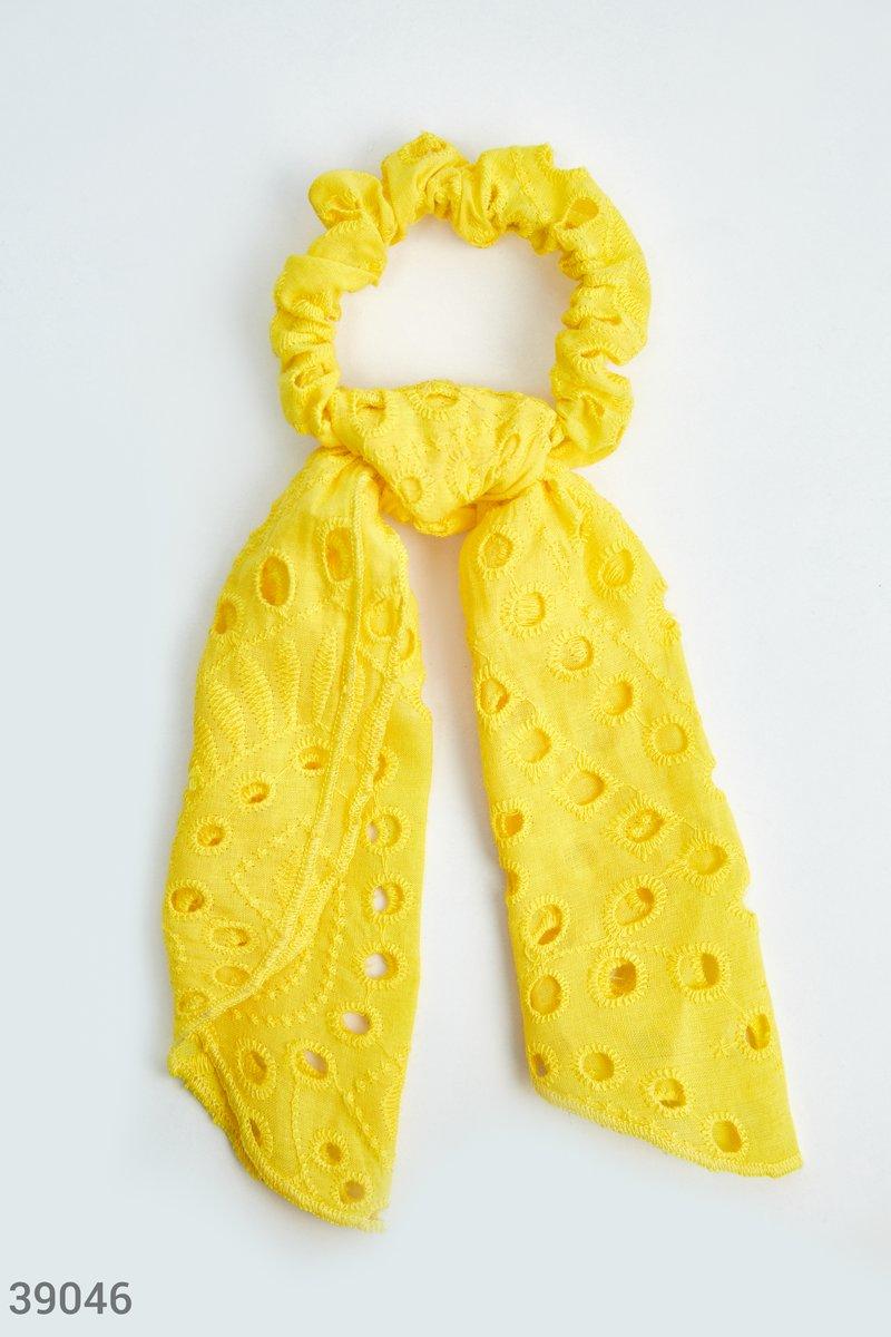 Резинка-платок яркого цвета