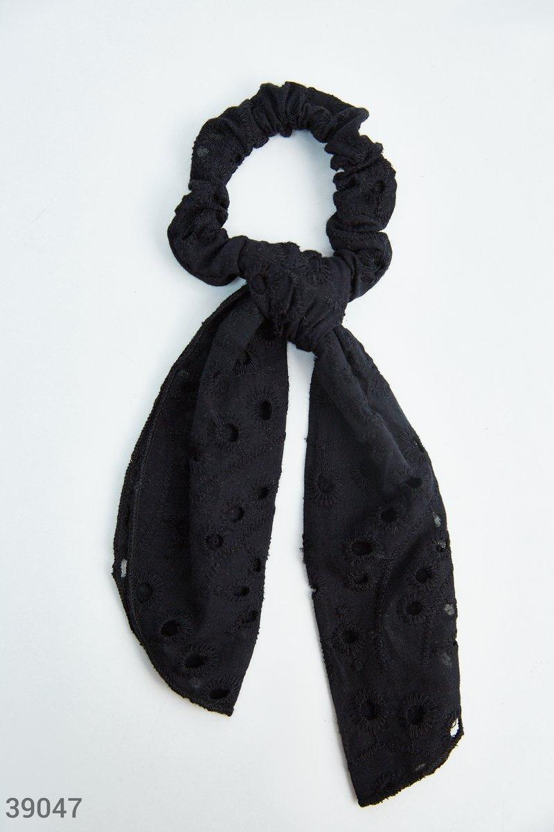 Резинка-платок базового цвета